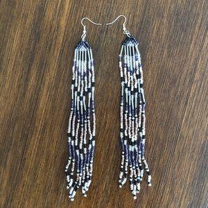 Jewelry - Bohemian beaded earrings